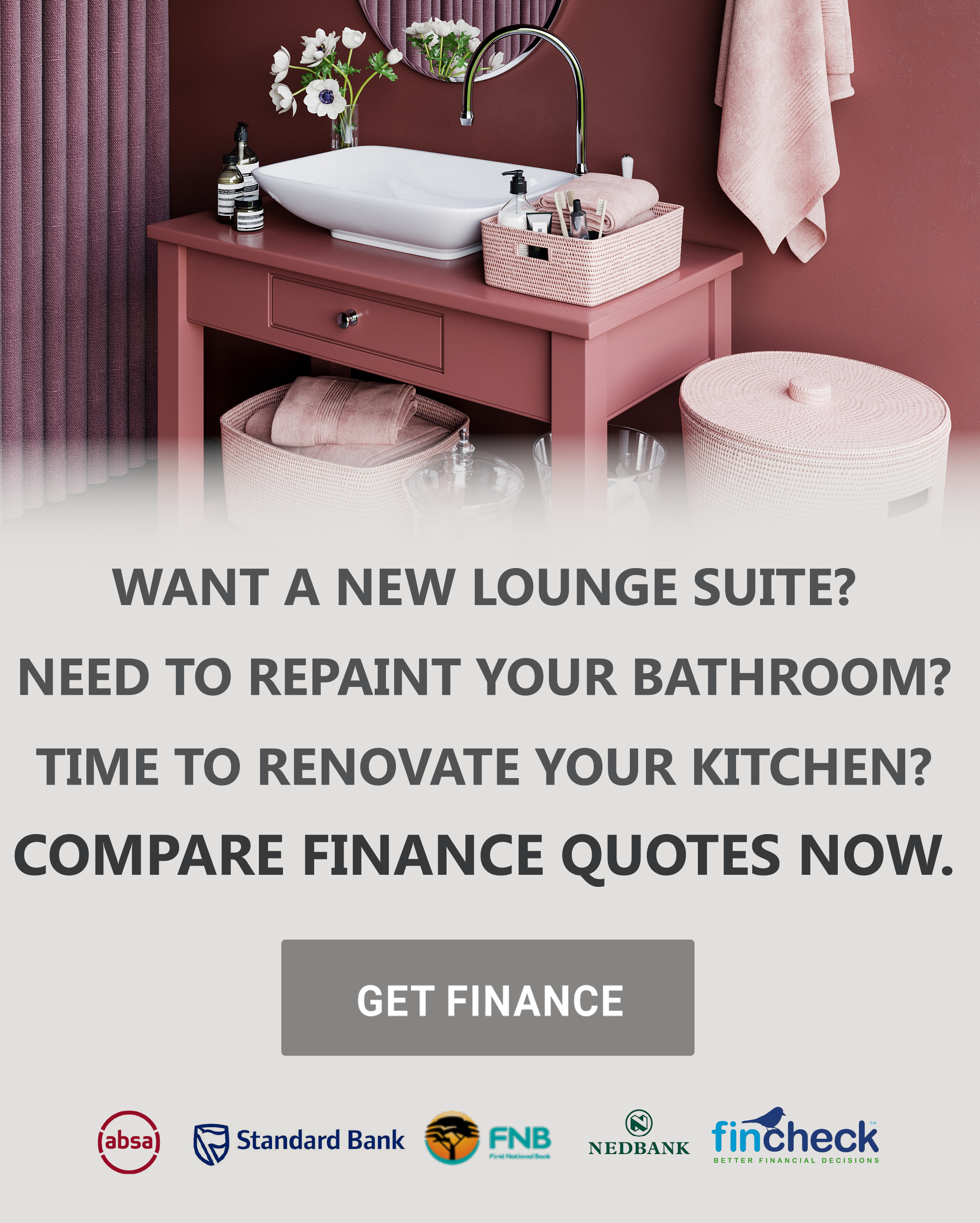 Now your home decorating dreams get finance