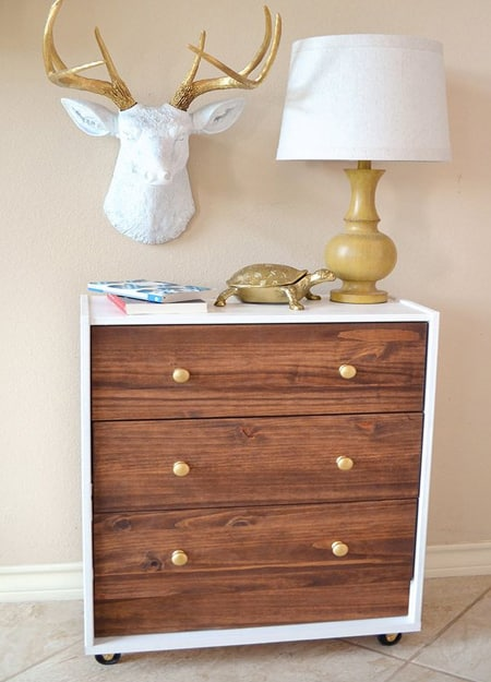Make your own or buy a ready-made chest of drawers, there are so many ways to turn the humble, pine chest of drawers into a spectacular feature piece.