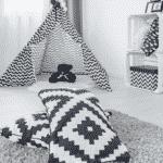 black-white-and-grey-kids-room