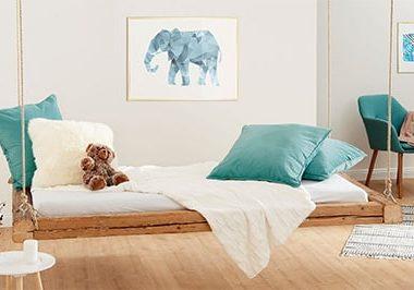 Make a floating bed